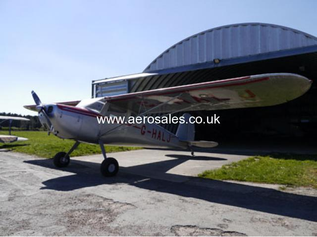 Cessna 140 For Sale With Hangerage - Aero Sales - Buy, Sell & Rent