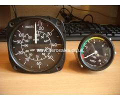 120mph Asi And 52mm 0-10psi Fuel Pressure Gauge