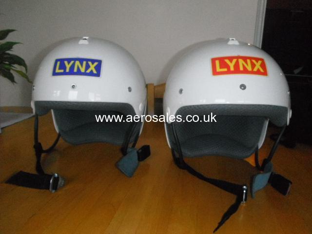Two Nearly New Lynx Helmets (size Medium)