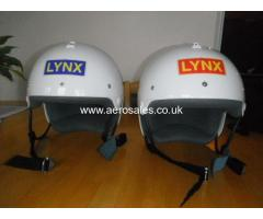 Two Nearly New Lynx Helmets (size Medium)