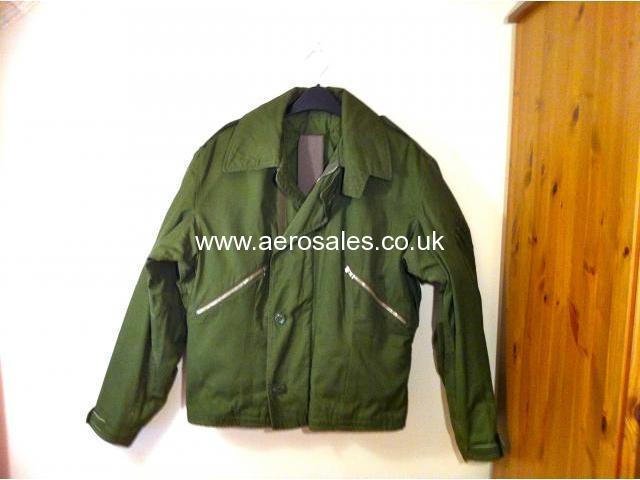 Raf Olive Green Flying Jacket