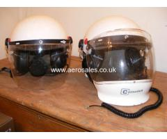 Lynx Style Helmets With Intercom And Covers