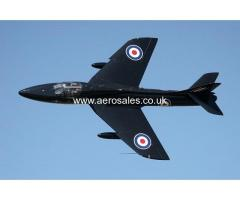 LEARN TO FLY A HAWKER HUNTER, FAST JET TRAINING