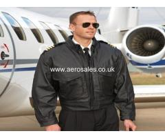 C-1 AIRLINE PILOT LEATHER JACKET. BRAND NEW. LARGE