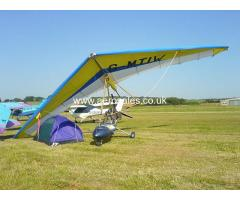 Pegasus XL-R Rotax 447 Microlight - Ebay Auction