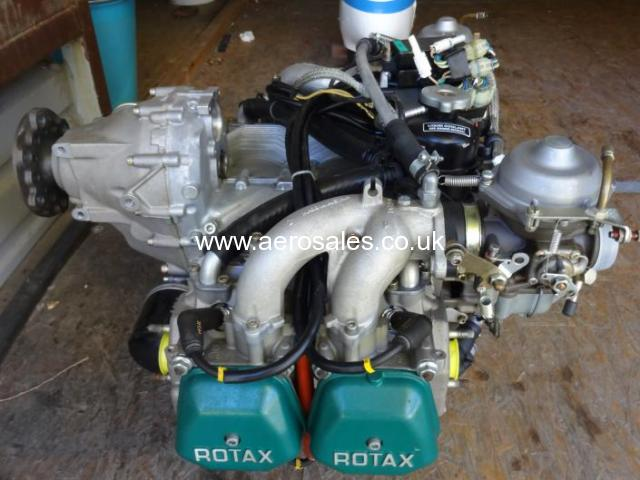 Almost New Rotax 912 uls 100HP