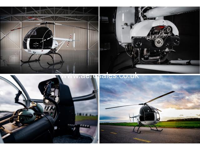 Two-seater, ultralight helicopter AK1-3