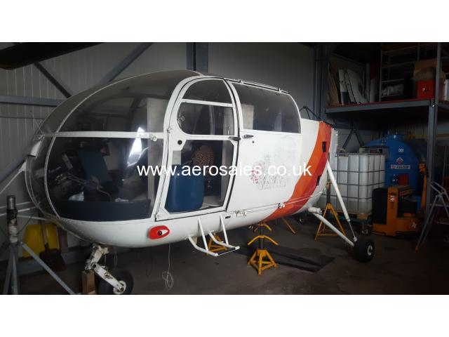 Helicopter Aerospatiale SA 316 Alouette lll