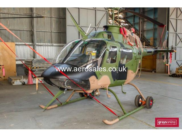 Bell Kiowa 206B-1 Ex-Military Light Utility Helicopter