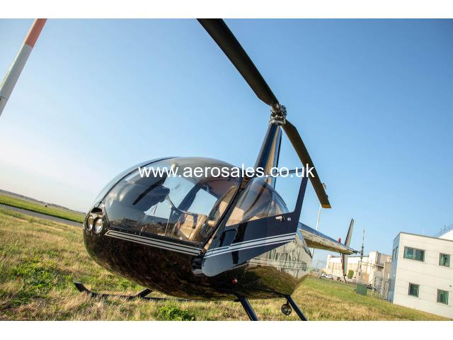 Robinson R44 Raven II (only 15 hours flown)