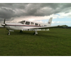 Share for sale Piper PA32R Saratoga based at Biggin Hill or Rochester