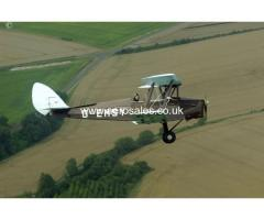 TIGER MOTH 1/4 SHARE FOR SALE