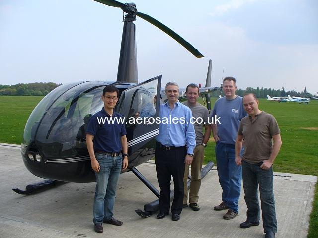 ROBINSON R44 HELICOPTER GROUP LONDON NO INVESTMENT