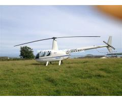 ROBINSON R44 AVAILABLE FOR SELF FLY HIRE