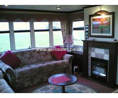 LUXURY CARAVAN FOR RENT ON SCOTTISH AIRFIELD