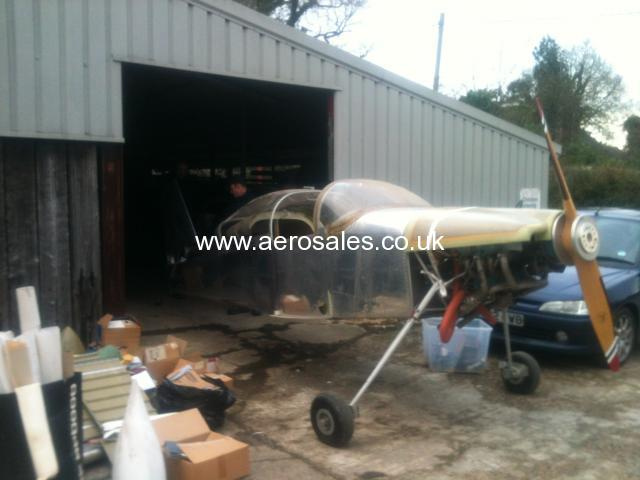 VANS RV-6 PROJECT FOR SALE